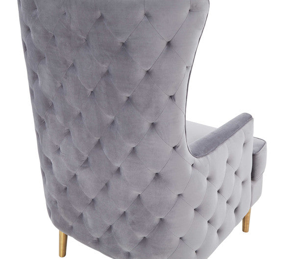 Avril Tall Tufting Back Chair