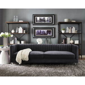 Pilot Velvet Sofa - living-essentials