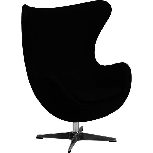 Egg Style Wool Fabric Chair - living-essentials