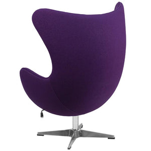 Egg Style Wool Fabric Chair Chairs Free Shipping