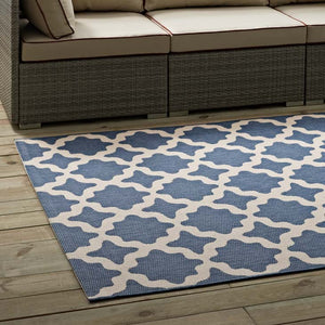 Clarrisa Moroccan Trellis 5X8 Indoor And Outdoor Area Rug Rugs Free Shipping