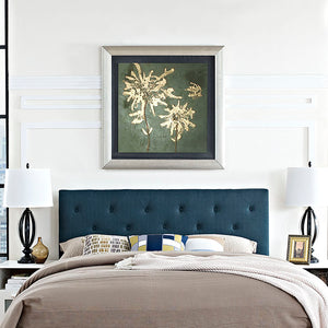 Griffin Queen Fabric Headboard Azure Free Shipping