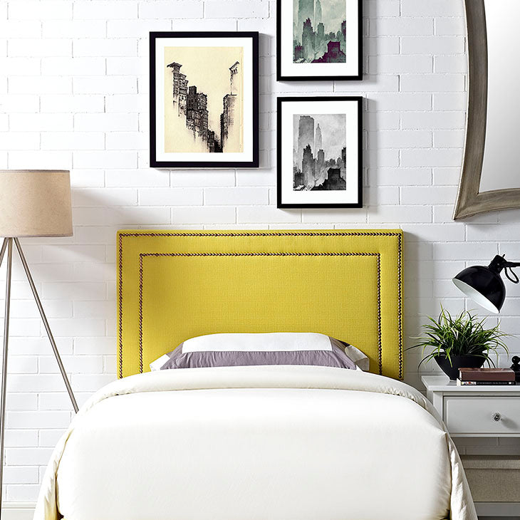 Jasmine Twin Fabric Headboard - living-essentials