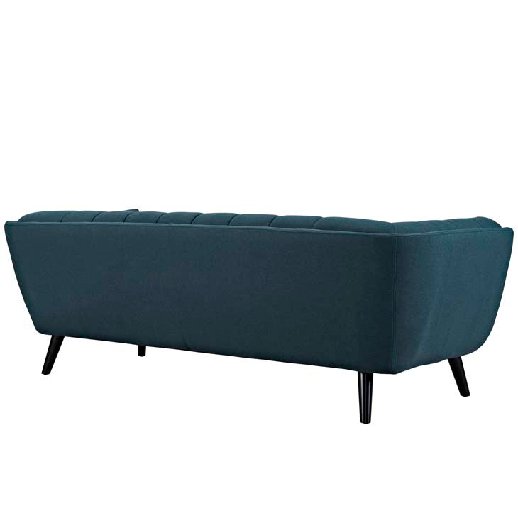 Becca Upholstered Fabric Sofa Free Shipping