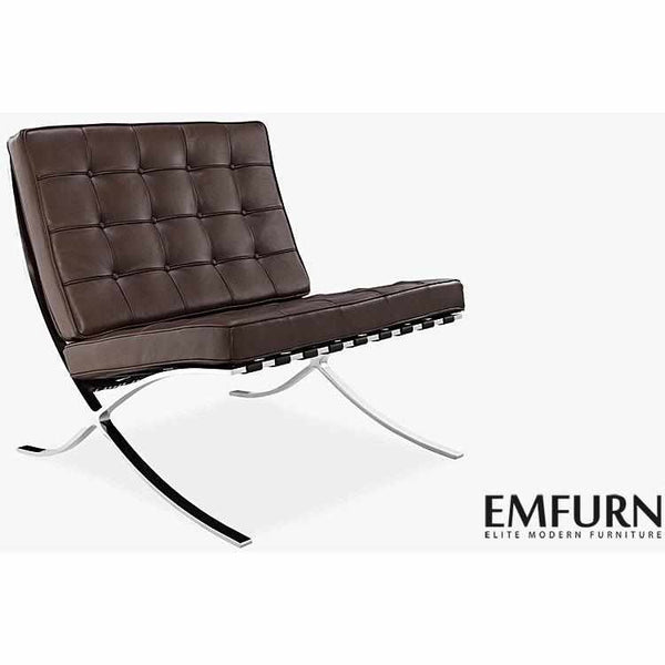 Knock Off Barcelona Chair barcelona chair replica. premium version. - emfurn