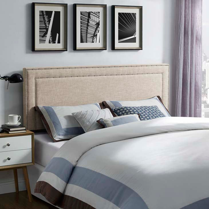 Jasmine Queen Fabric Headboard - living-essentials