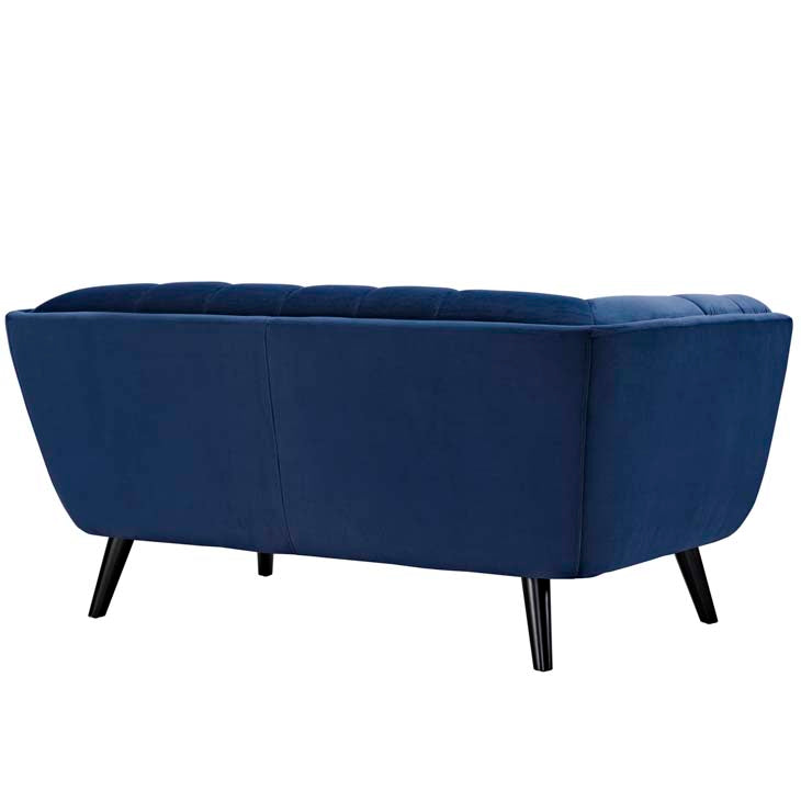 Becca Velvet Loveseat - living-essentials
