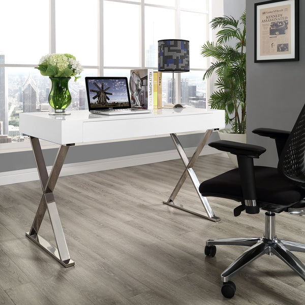 Stella Silver Office Desk