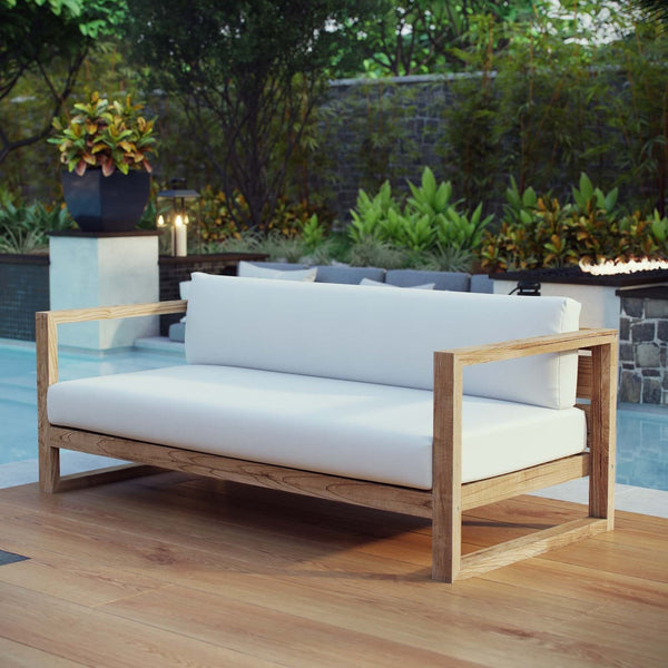Unity Outdoor Patio Teak Sofa