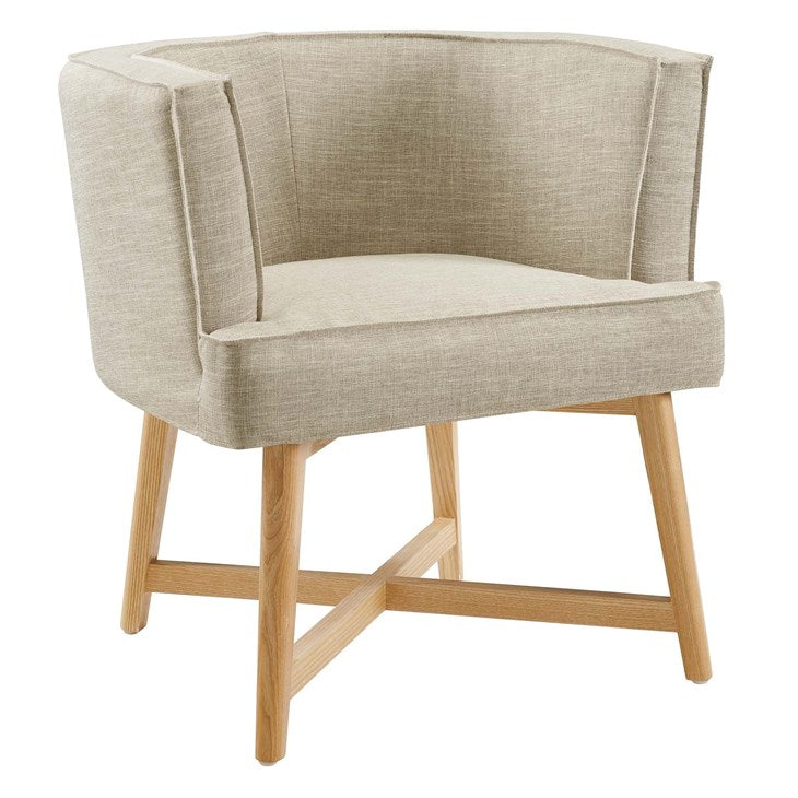 Glish Upholstered Fabric Accent Chair