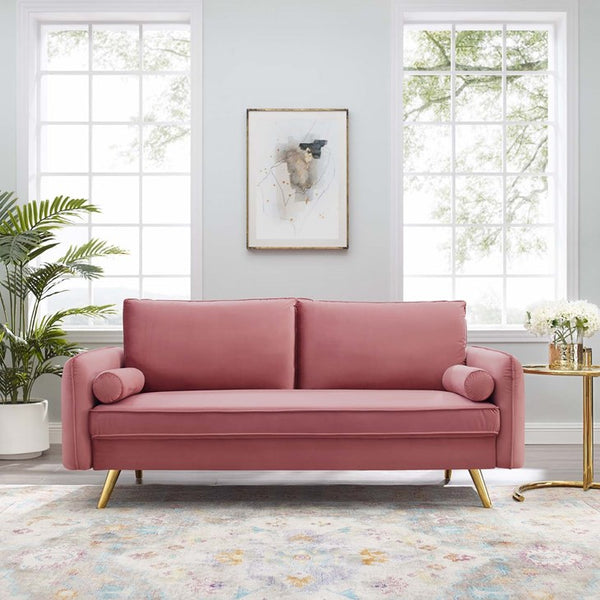 Serendia Performance Velvet Sofa