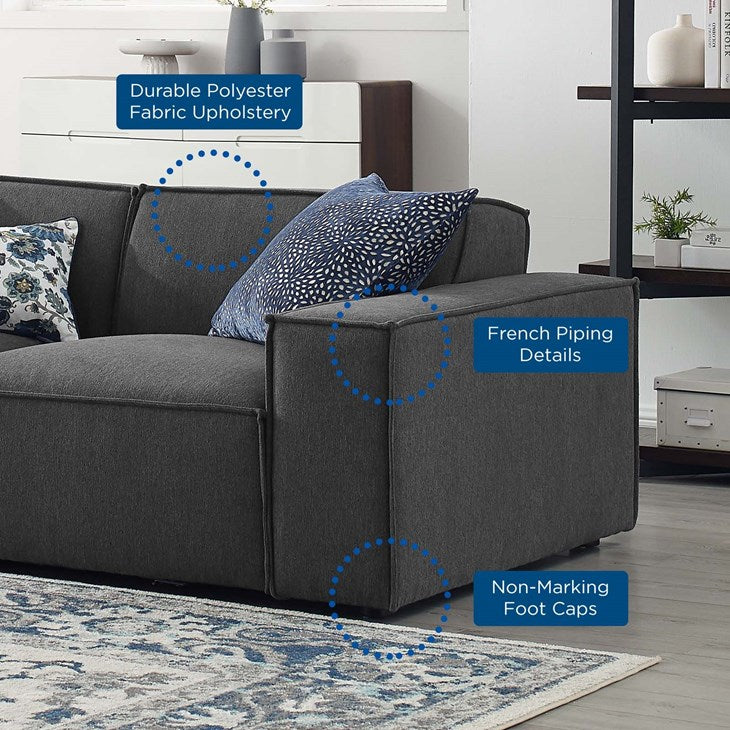 Vitality 4-Piece Sectional Sofa