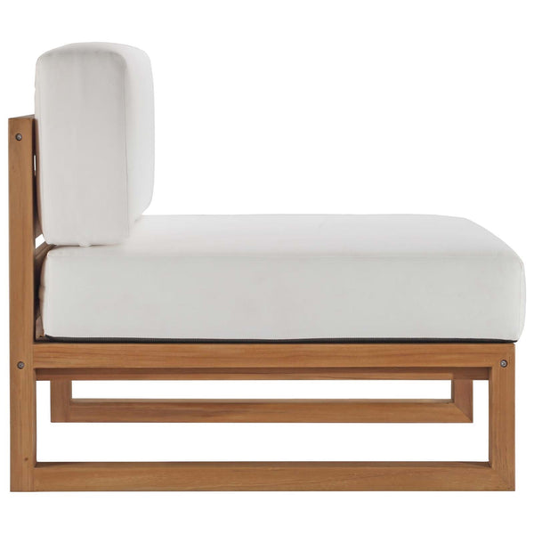 Breeze Outdoor Teak Armless Chair