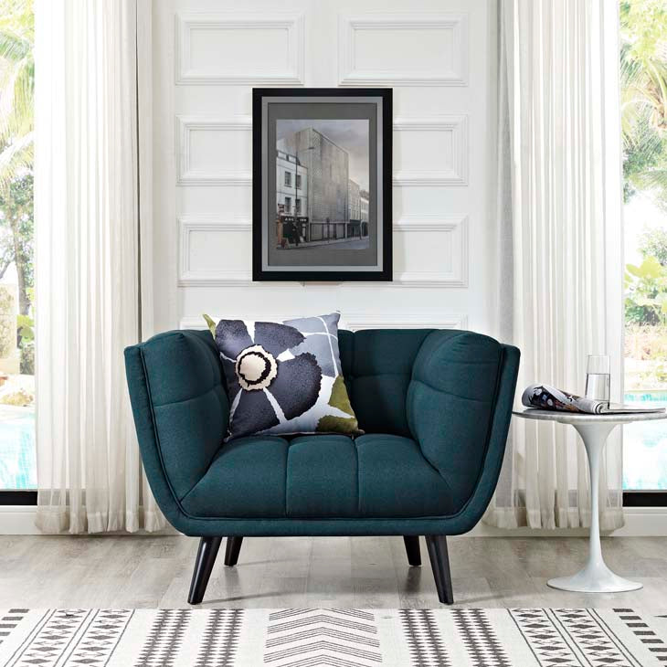 Becca Upholstered Fabric Chair - living-essentials