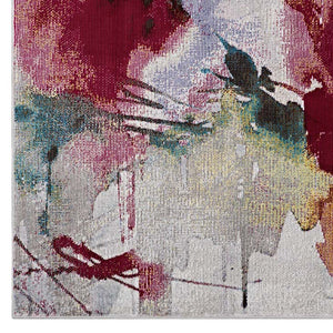 Bless Abstract Floral 8X10 Rug Rugs Free Shipping