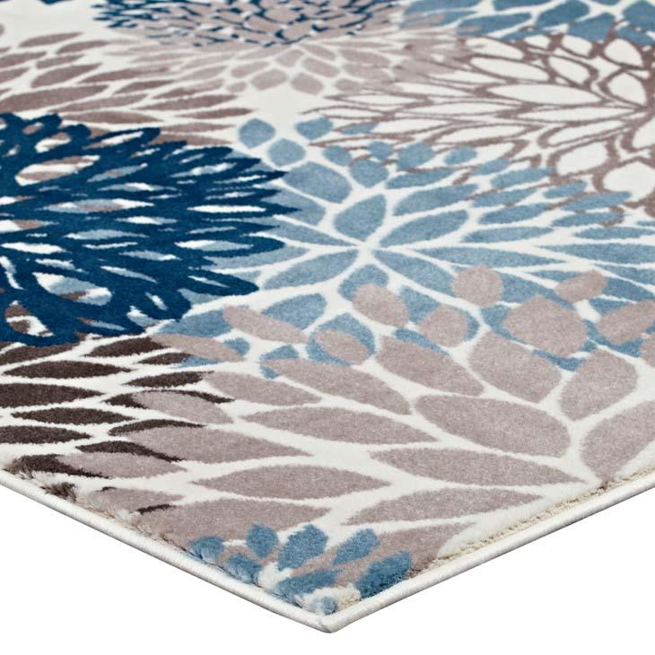Cali Vintage Classic Abstract Floral 5x8 Area Rug - living-essentials