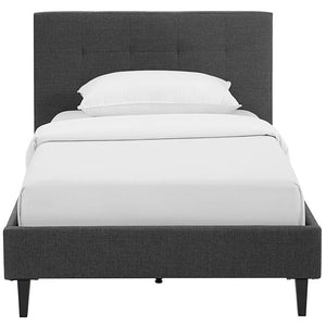 Linda Twin Fabric Bed Frame Frames Free Shipping