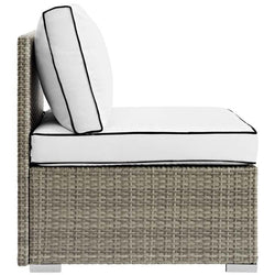 Rennie Outdoor Patio Armless Chair - living-essentials