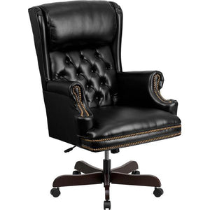 Charles Classic High Back Executive Office Chair Black Chairs Free Shipping