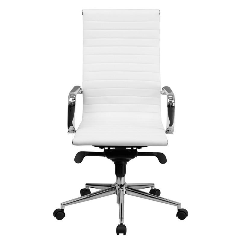 Charles High Back Swivel Office Chair - living-essentials