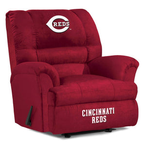 Cincinnati Reds Big & Tall Microfiber Recliner
