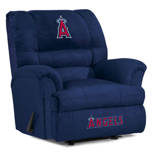 Los Angeles Angels Big & Tall Microfiber Recliner - living-essentials