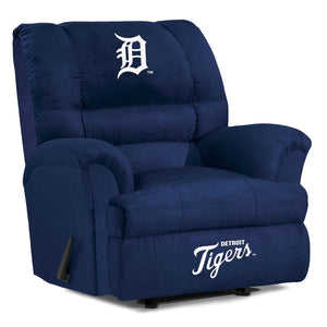 Detroit Tigers Big & Tall Microfiber Recliner - living-essentials