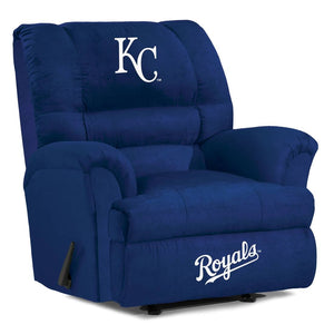 Kansas City Royals Big & Tall Microfiber Recliner - living-essentials