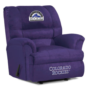 Colorado Rockies Big & Tall Microfiber Recliner
