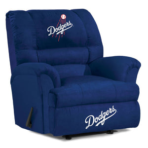 Los Angeles Dodgers Big & Tall Microfiber Recliner - living-essentials