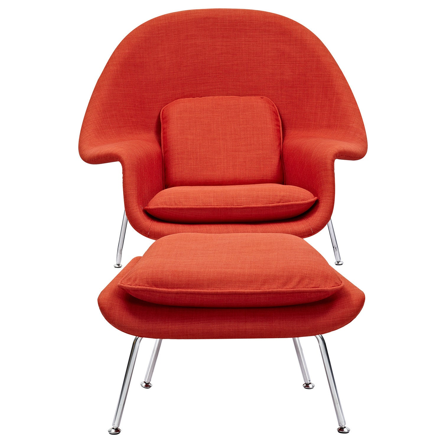 Saarinen Style Womb Chair Amp Ottoman Special Colors Emfurn
