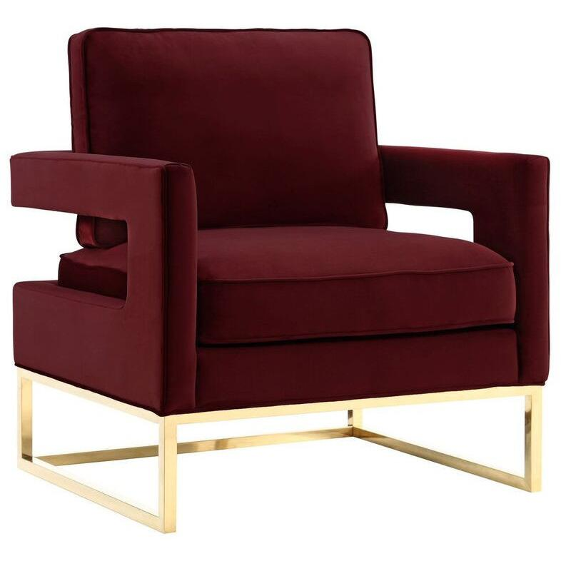 Alfred velvet lounge chair emfurn for Iconic modern chairs