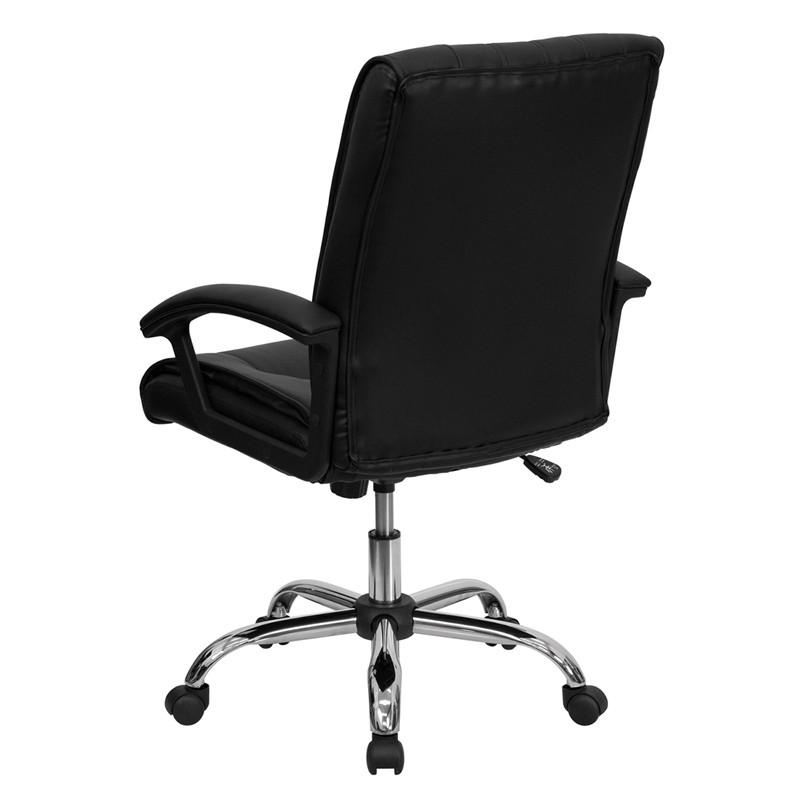 Sleek Mid-Back Office Chair - living-essentials