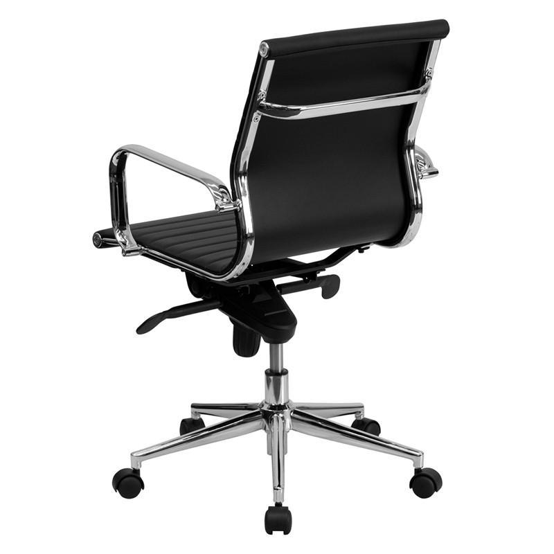 Charles Mid-Back Swivel Office Chair - living-essentials