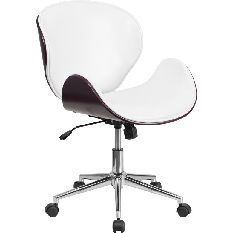 Linda Mid-back Swivel Office Chair - living-essentials