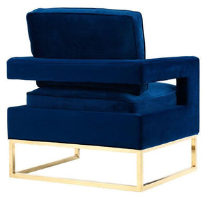 Alfred Velvet Lounge Chair Chairs Free Shipping