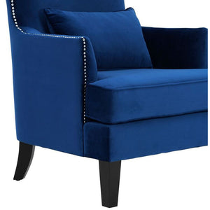 Crystal High Back Accent Chair Chairs Free Shipping