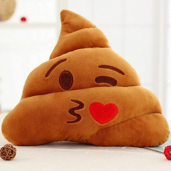 Poop Wink Cushion - living-essentials