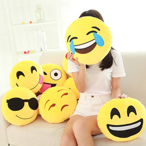 Funny Emoji Pillows Free Shipping