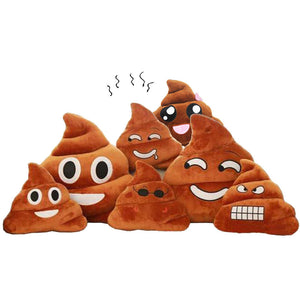 Poop Emoji Pillows - Different Moods Free Shipping