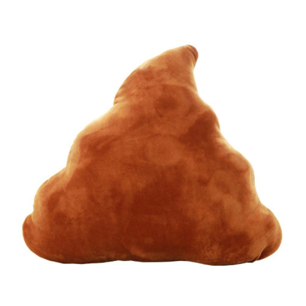 Smiling Poop Pillow - living-essentials