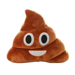 Smiling Poop Pillow Emoji Pillows Free Shipping