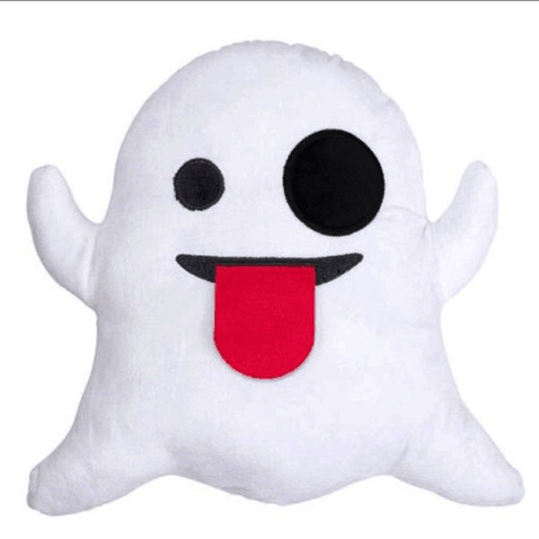 Ghost Emoji Pillow - living-essentials