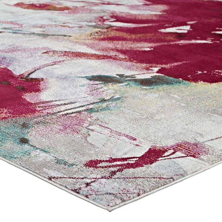 Bless Abstract Floral 8x10 Rug - living-essentials