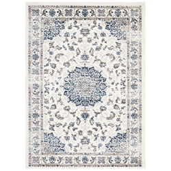 Lilly Distressed Vintage Persian Medallion 8x10 Area Rug - living-essentials