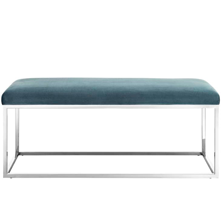 Gale Fabric Bench - living-essentials