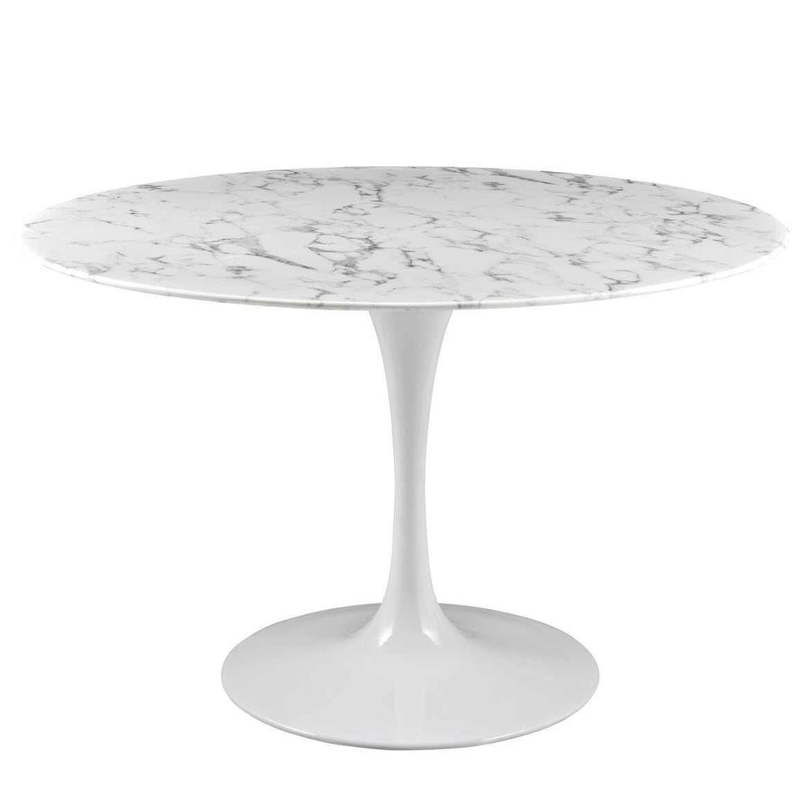 Tulip Style 47 Marble Dining Table Tables Free Shipping