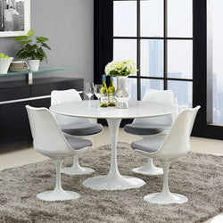 "Tulip Style 47"" Dining Table - living-essentials"