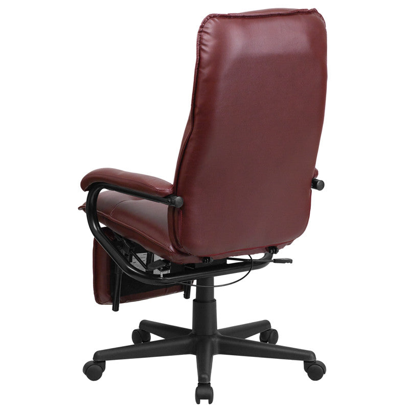 Ethan Reclining Leather Office Chair - living-essentials