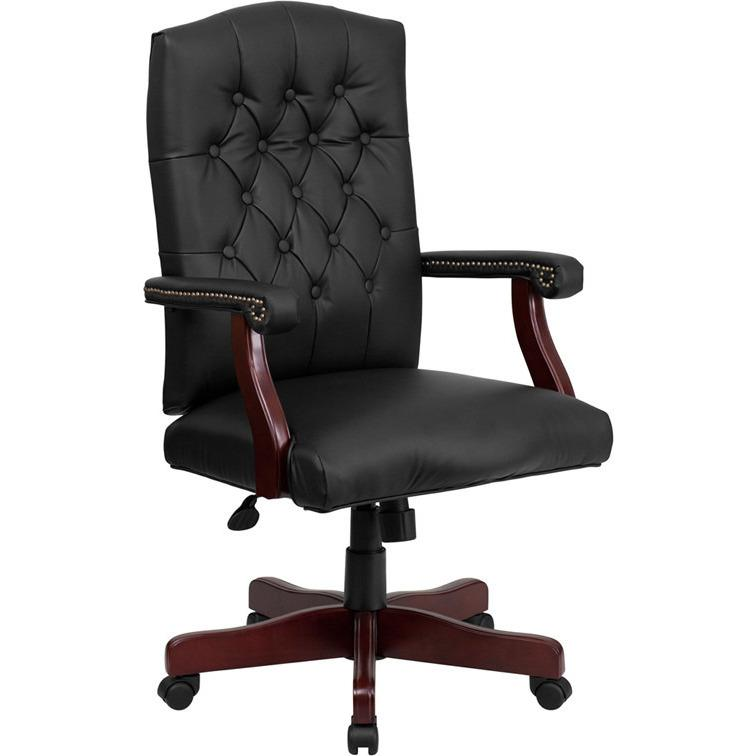 Ronald Bonded Leather Office Chair - living-essentials